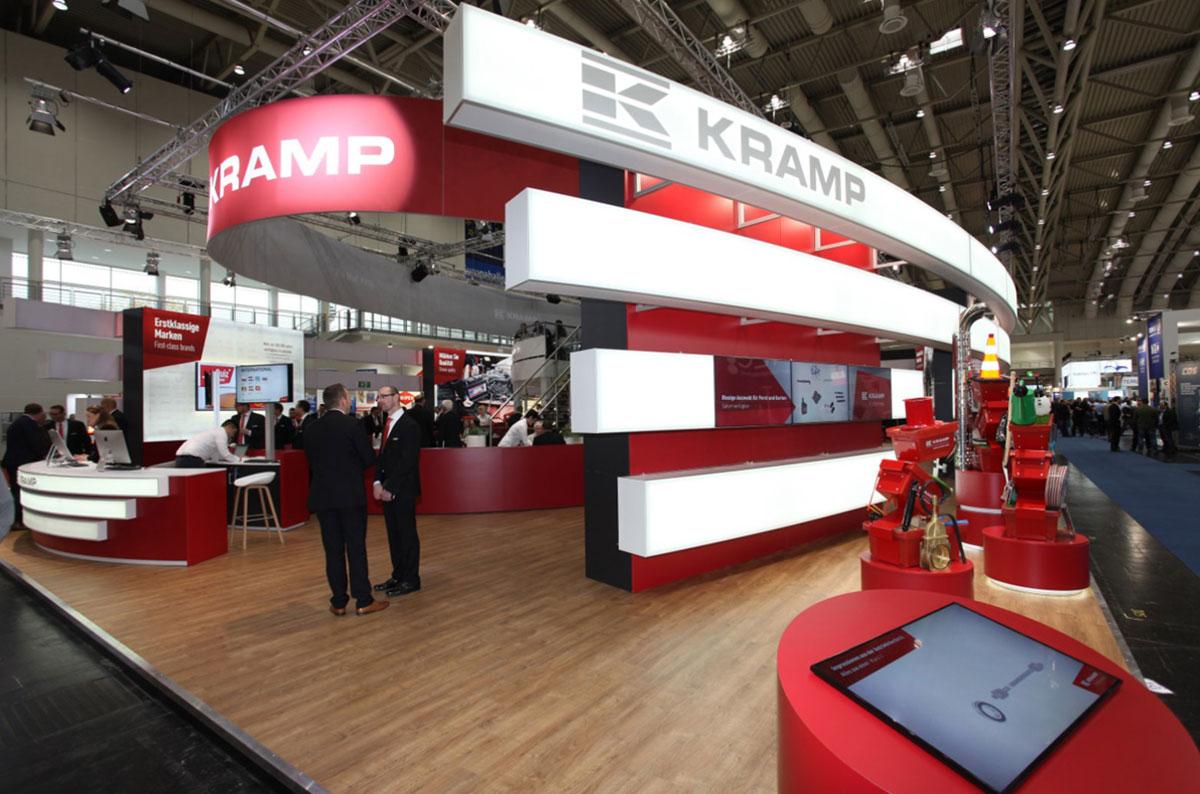 Menkhorst standbouw stand Kramp Agritechnica Hannover