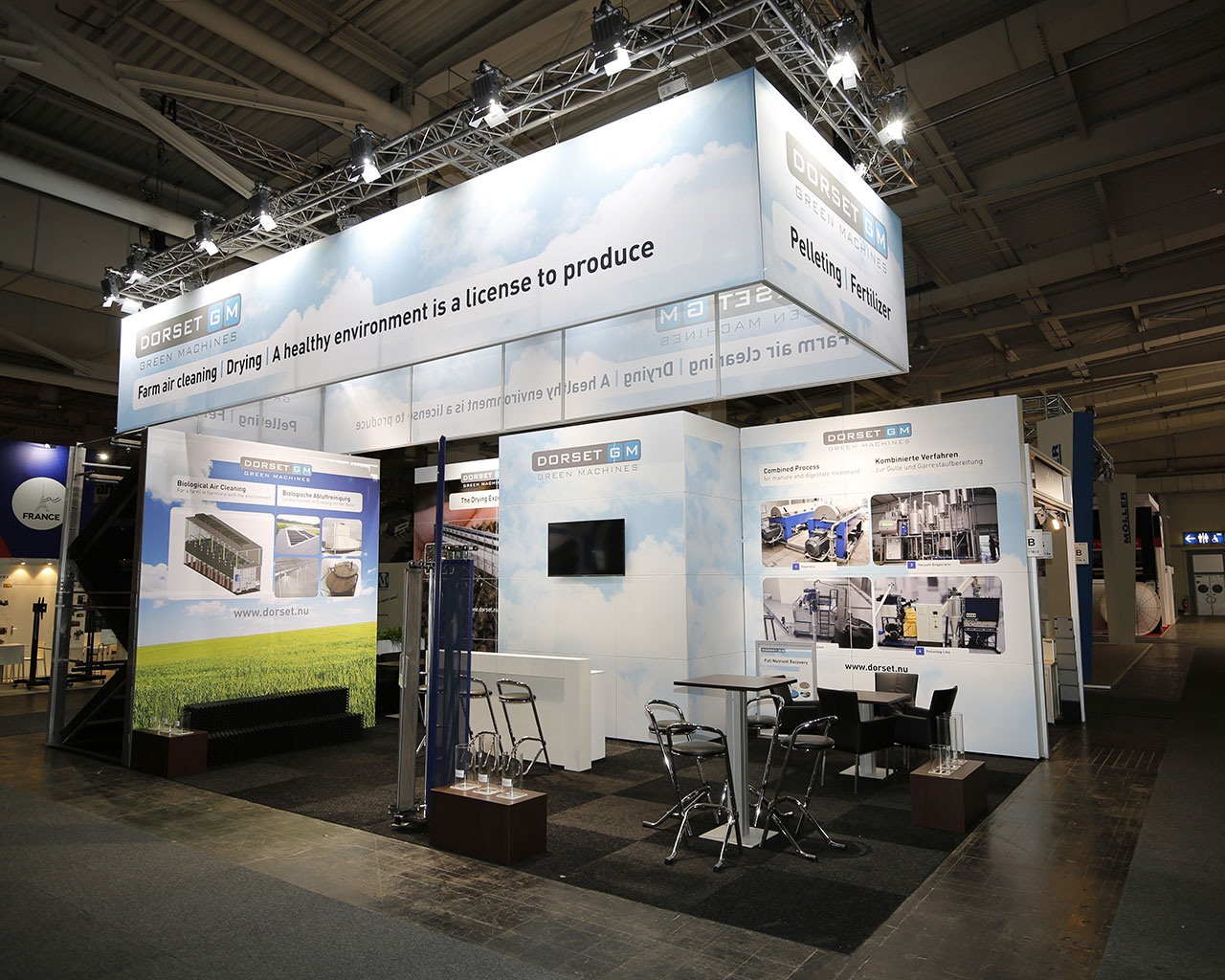 Stand Dorset EuroTier 2018 Hannover