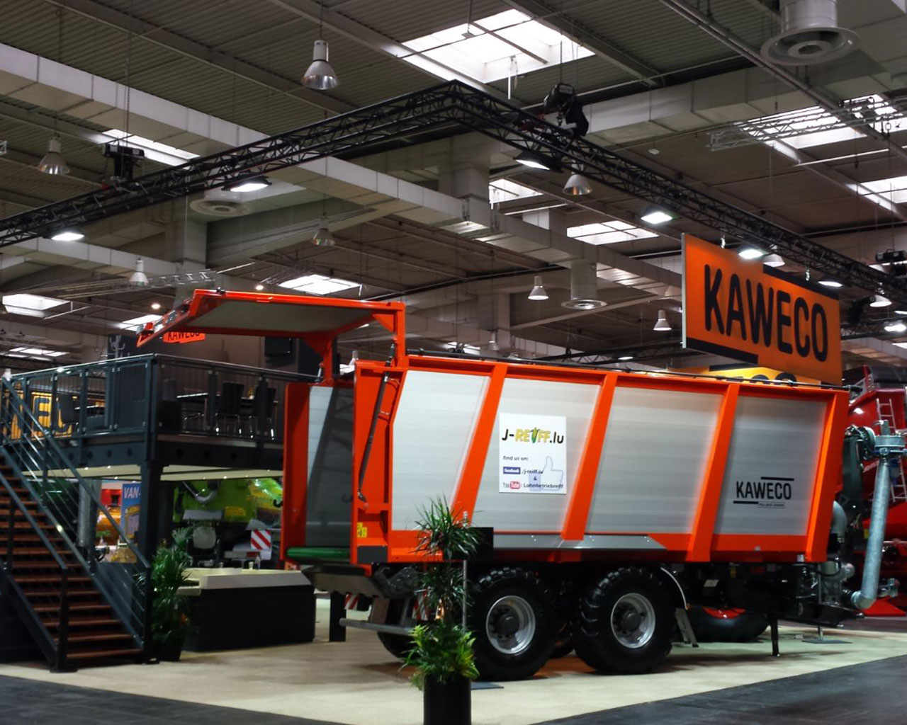 Stand Kaweco Agritechnica Hannover 2017