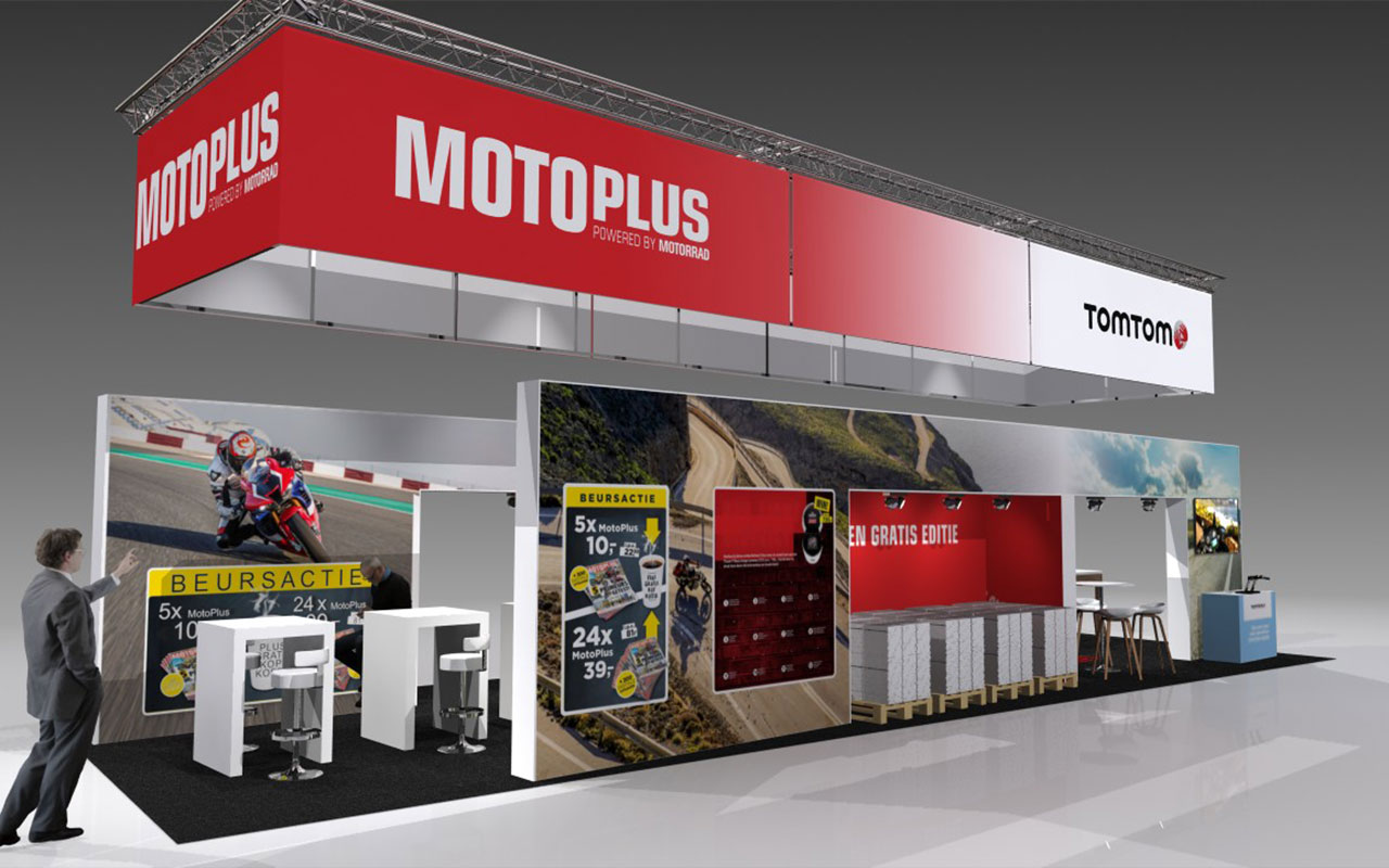 tand Motoplus Motorbeurs Utrecht 2020