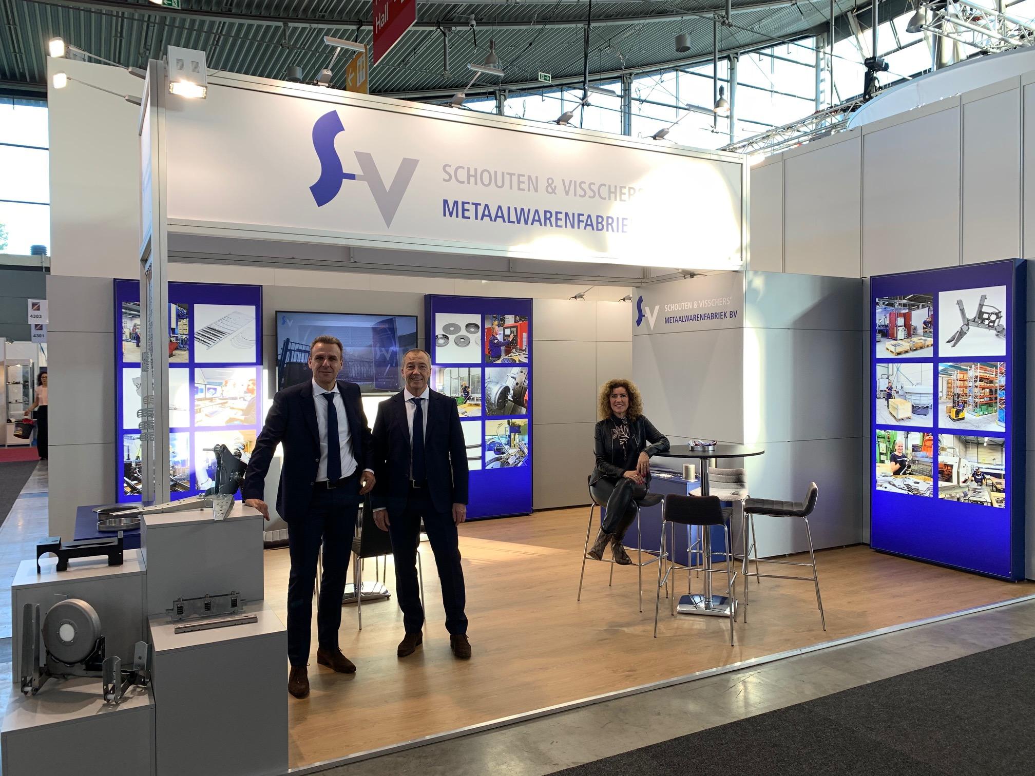 stand Schouten&Visschers Blechexpo Stuttgart 2019